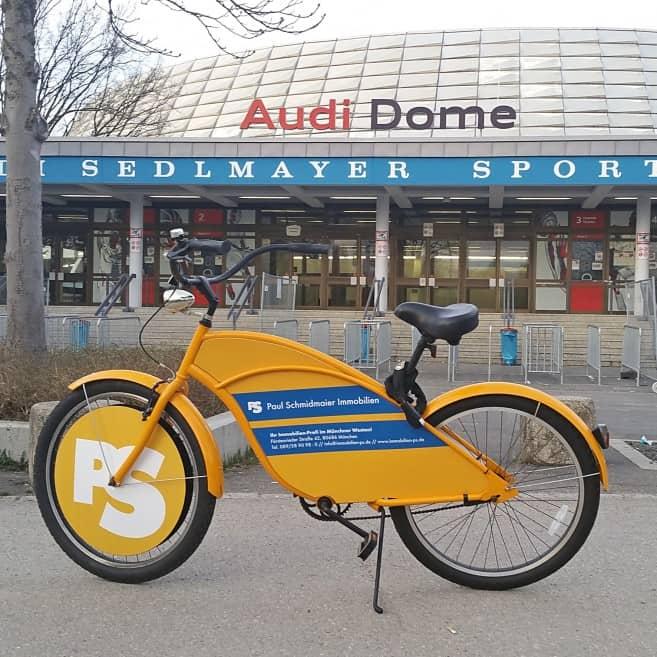 PS-Fahrrad Audi Dome 2